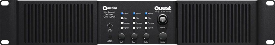 Quest QM100P Power Amplifier.